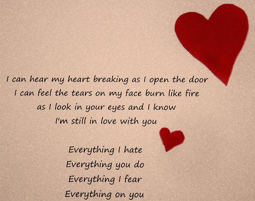 Breaking My Heart The Wanderers Thoughts